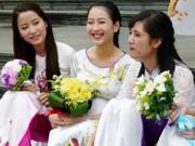 Tin tức thời trang - Phố thuê áo dài rẻ nhất Hà Nội