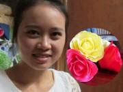 Bạn trẻ - Cuộc sống - 9X kiếm 30 triệu đồng/tháng nhờ hoa đất sét