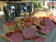 Video An ninh - Cao Bằng: Bắt vụ vận chuyển hơn 1 tấn pháo nổ