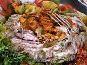 Ẩm thực - Vị ngọt món cá sông Đà hấp cam