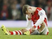 Bóng đá - Chấn thương hành hạ, Wilshere lập kỉ lục buồn ở Arsenal