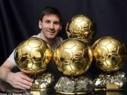 Bóng đá - Messi: Kỷ lục khó cứu nổi Bóng vàng