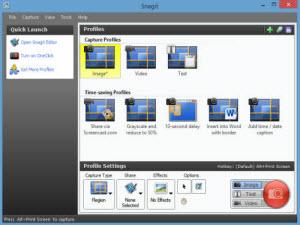 Phần mềm quay phim, chụp ảnh màn hình đa năng