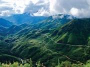 Du lịch - Thám hiểm dọc đường đèo Ô Quy Hồ hùng vĩ