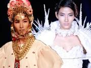 """Thời trang - Hoàng Thùy """"đắt"""" show thời trang quốc tế"""