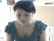 Video An ninh - Nữ sinh cầm dao xông vào nhà cướp vàng hàng xóm