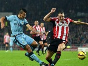 Bóng đá - Sunderland - Man City: Ngược dòng huy hoàng
