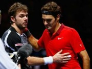 Thể thao - Federer ngược dòng kì diệu trước Wawrinka hay nhất 2014