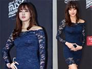 Thời trang - Mỹ nhân Hàn mặc váy 600 ngàn lên thảm đỏ danh giá