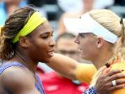 Thể thao - Serena - Wozniacki: Thoát hiểm phút cuối (Giải tennis Ngoại hạng)