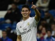 Bóng đá - Tin HOT bóng đá tối 5/12: James Rodriguez được trọng dụng ở Real