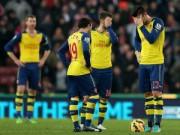 Bóng đá - Arsenal thua trận: Khi Wenger thiếu bản lĩnh