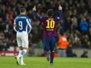 Bóng đá - Lập hattrick, Messi cán mốc 400 bàn cho Barca