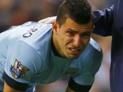 Bóng đá Ngoại hạng Anh - Aguero chấn thương: Man City cần vượt qua cơn bĩ cực