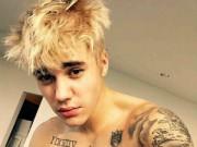 Ca nhạc - MTV - Justin Bieber tóc vàng hoe khoe diện mạo mới