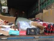 An ninh Xã hội - Bắt giữ 9 xe tải chở hàng lậu từ biên giới về Hà Nội