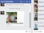 QC trực tuyến - Cẩn thận virus gửi tin nhắn kèm avatar Facebook