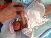 Tin tức trong ngày - TQ: Bé sinh non sống sót kỳ diệu sau 2 giờ chôn sống