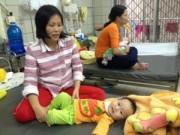 Sức khỏe đời sống - Số trẻ nhập viện do tiêu chảy, hô hấp tăng vọt