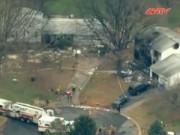 Video An ninh - Máy bay rơi tại Mỹ, 6 người tử nạn