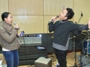 """Ca nhạc - MTV - Tùng Dương, Nguyên Thảo """"lên đồng"""" trong phòng tập"""