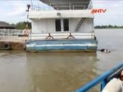 Video An ninh - Thi thể người nước ngoài nổi trên sông Sài Gòn