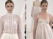 """Thời trang - Váy trắng của Valentino đẹp tới mức """"nín thở"""""""