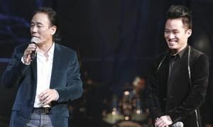 """Ca nhạc - MTV - Tùng Dương """"mất điện"""" khi đứng cạnh bố trên sân khấu"""