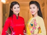 """Thời trang - Á hậu Huyền My """"đọ sắc"""" với hoa hậu Ngọc Hân"""