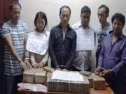An ninh Xã hội - Bắt 6 người nước ngoài vận chuyển 92 bánh heroin