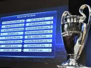 Bóng đá - Bốc thăm vòng 1/8 Cup C1: Man City tái đấu Barca