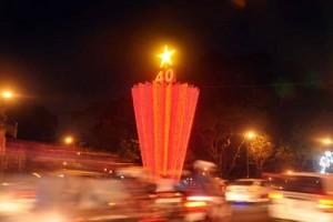 Tin tức trong ngày - Đường phố Sài Gòn lung linh đón chào năm mới