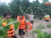 Video An ninh - Đi xem lũ, hai anh em ruột đuối nước thương tâm