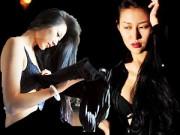 Thời trang - Một ngày làm người mẫu nội y của chân dài Trung Quốc
