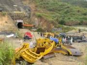 Video An ninh - Sập hầm thủy điện Đạ Dâng, 11 công nhân bị mắc kẹt
