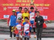 """Thể thao - Kết thúc Cuộc đua xe đạp """"Xuyên Việt: Dược Domesco Đồng Tháp 1 thắng lớn"""