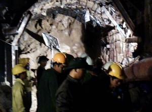 Tin tức trong ngày - Clip hiện trường vụ sập hầm thủy điện, 12 công nhân mắc kẹt