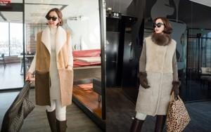 Bí quyết mặc đẹp - Bày cách mặc đẹp cho áo khoác không tay