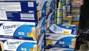 Thị trường - Tiêu dùng - Sữa lậu bày bán công khai