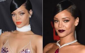 Làm đẹp - Màu son ấn tượng của Rihanna trong năm 2014