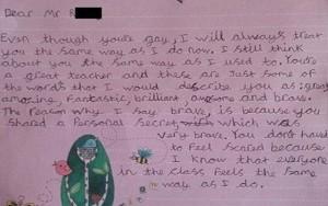 8X + 9X - Cô bé 9 tuổi viết thư cho thầy giáo đồng tính