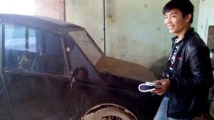 Tin tức trong ngày - Nghệ An: Tự chế ô tô 30 triệu, chạy 100 km hết 4 lít xăng