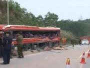 Camera hành trình - Nguyên nhân vụ tai nạn khiến 6 người chết ở Quảng Ninh