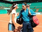 """Thể thao - Ivanovic ca ngợi Federer là """"Quý ông đích thực"""""""