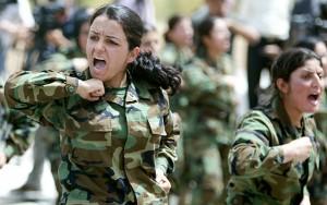 """Tin tức trong ngày - Tiết lộ về đội nữ chiến binh - """"cơn ác mộng"""" của khủng bố IS"""