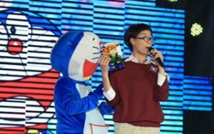 Ngôi sao điện ảnh - Trang Trần hóa Nobita, hát nhạc Doremon