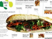 """Ẩm thực - """"Bánh mì"""" Việt được đưa vào từ điển Anh Mỹ"""