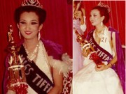 """Người mẫu - Hoa hậu - Ảnh cực hiếm của hoa hậu chuyển giới Thái """"đời đầu"""""""