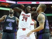 Thể thao - Sao bóng rổ hành hung đối thủ, trọng tài vạ lây