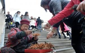 Tình yêu - Giới tính - Nghẹn ngào mẹ già 86 tuổi bán cầu lông gà cứu con trai